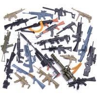 1:6 4D Gun Model Assemble Plastic Model For 12 inch Action Figures Weapon Minigun With Racks