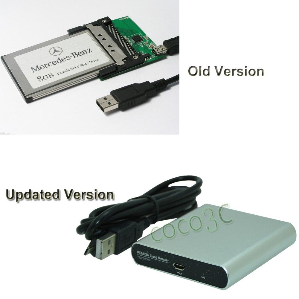 USB 2.0 à 68pin PCMCIA slot carte Cardbus lecteur pour SD/CF adaptateur cardbus pour Mercedes-Benz