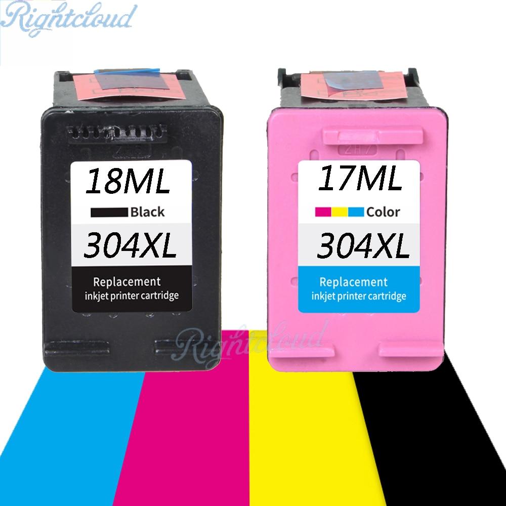 Con mostra il livello di inchiostro per hp304 cartuccia di Inchiostro per HP Deskjet 3720 3721 3723 3724 3730 3732 3752 3755 3758 per HP 304 Per HP 304XL