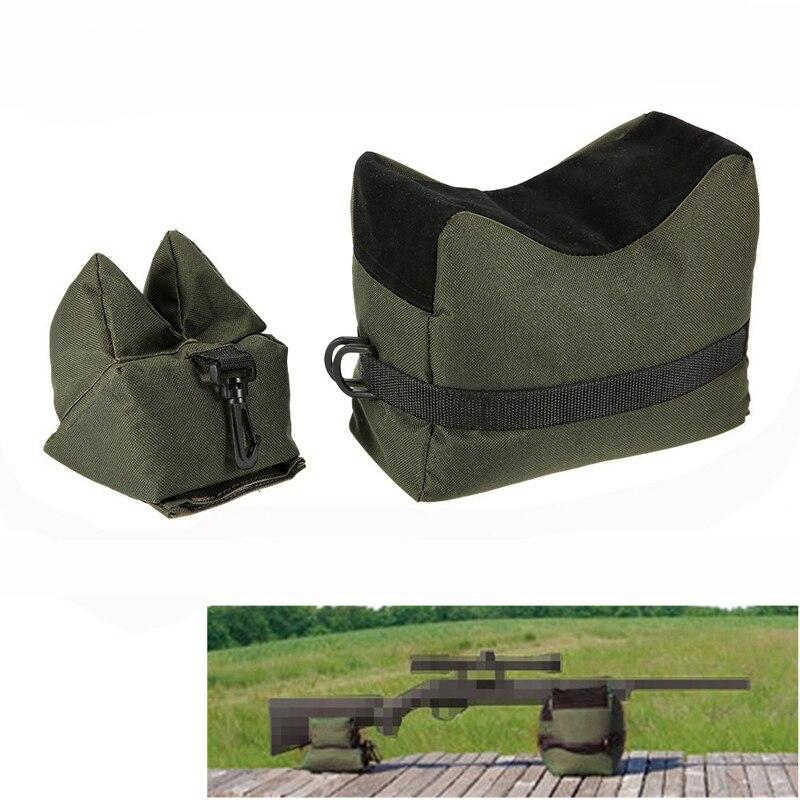 Tactical Sniper Shooting Bag Gun Front Rear Bag Rest Target Stand Rifle Support Sandbag Bench Outdoor Hunting Accessories Bag