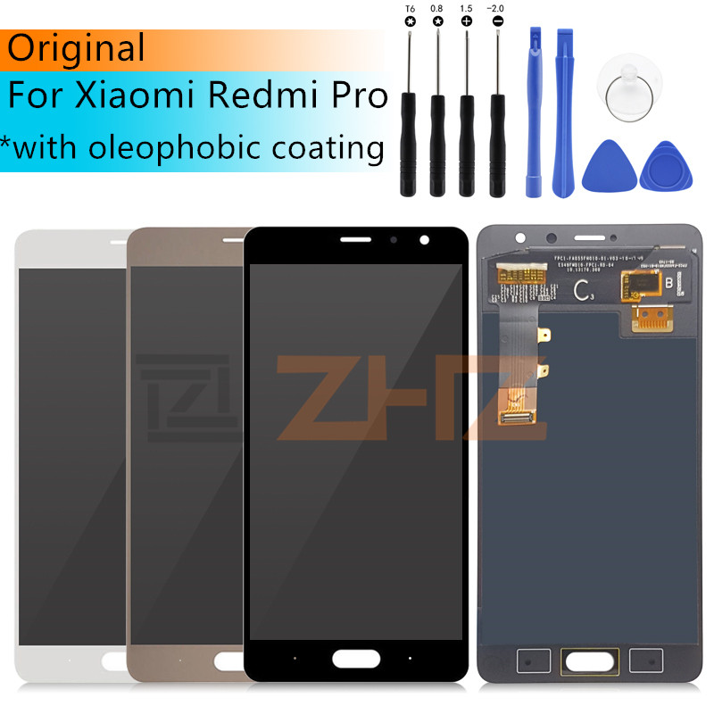 Amoled For Xiaomi Redmi Pro Lcd Display 10 Touch screen Glass lcd Digitizer pantalla Assembly Screen Replacement repair PartsAmoled For Xiaomi Redmi Pro Lcd Display 10 Touch screen Glass lcd Digitizer pantalla Assembly Screen Replacement repair Parts
