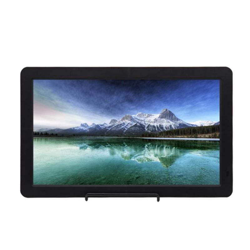 15.6 Inch Super Slim IPS LCD Display HD <font><b>1080P</b></font> <font><b>Portable</b></font> <font><b>Monitor</b></font> for HDMI PS4 XBOX PS3 speakers cameras PC Laptop US Plug image