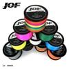 JOF 1000m 40LB 100LB PE Multifilament 4 Strands Braid Line Ocean Fishing Super Strong Carp Colorful