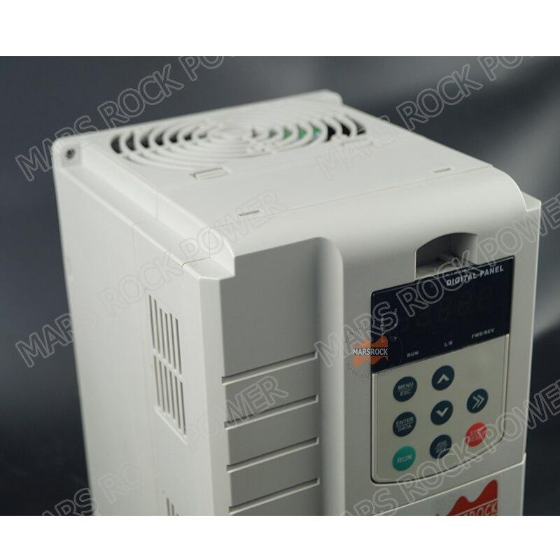 7.5KW 17A 3 phase 380VAC mppt solarpumpenwechselrichter für 7.5HP 5.5KW wasserpumpe DC schalter innen PV solarpumpe controller - 4