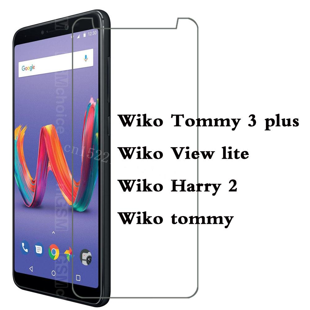 Film Ultrathin Tempered Glass For Wiko tommy View lite Harry 2 Tommy 3 plus Screen Protector Phone Cover Q