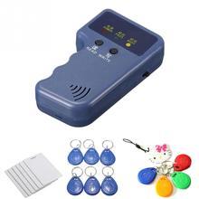 Ручной RFID писатель Дубликатор 125 кГц EM4100 копир Программист RFID считыватель с записываемой ID Брелоки метки карты