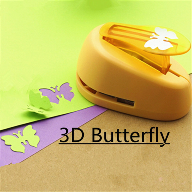 1 Inch 3d Butterfly Shape Punch Craft Butterflies Hole Puncher For