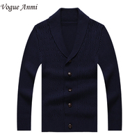 Autumn Men Long Sleeve Sweater Colourful V Collar Men S Cardigan Sweater Male Slim Casual Dress