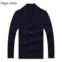 Autumn Men Long Sleeve Sweater Colourful V Collar Men S Cardigan Sweater Male Slim Casual Dress