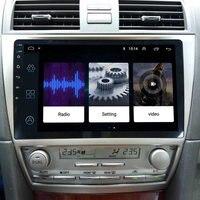 LEEWA 10,2 дюймов больше HD экран Android 8,1 4 ядра автомобиля Media Player с радио gps навигатор для Toyota Camry XV40/DAIHATSU altis