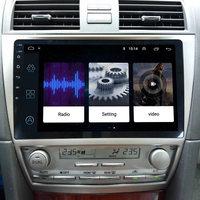 LEEWA 10.2 inch Bigger HD Screen Android 8.1 Quad Core Car Media Player With GPS Navi Radio For Toyota Camry XV40/Daihatsu Altis