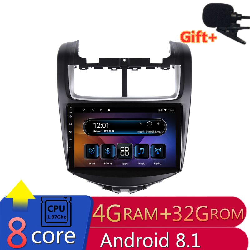 "9"" 4G RAM 8 cores Android Car DVD GPS Navigation for Chevrolet Aveo 2014 2015 2016 audio stereo car radio headunit bluetooth"