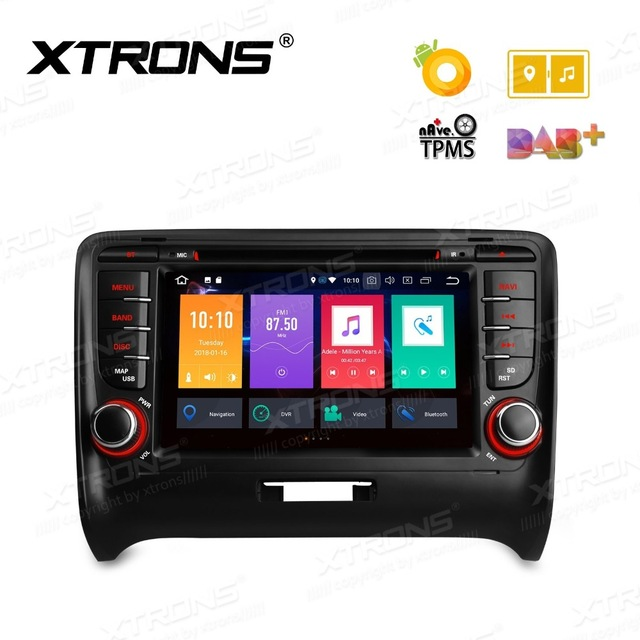Android 8.0 Octa Core 7 ''Radio Stereo GPS DVR OBD Car DVD Player per Audi TT MK2 8J 2006 2007 2008 2009 2010 2011 2012