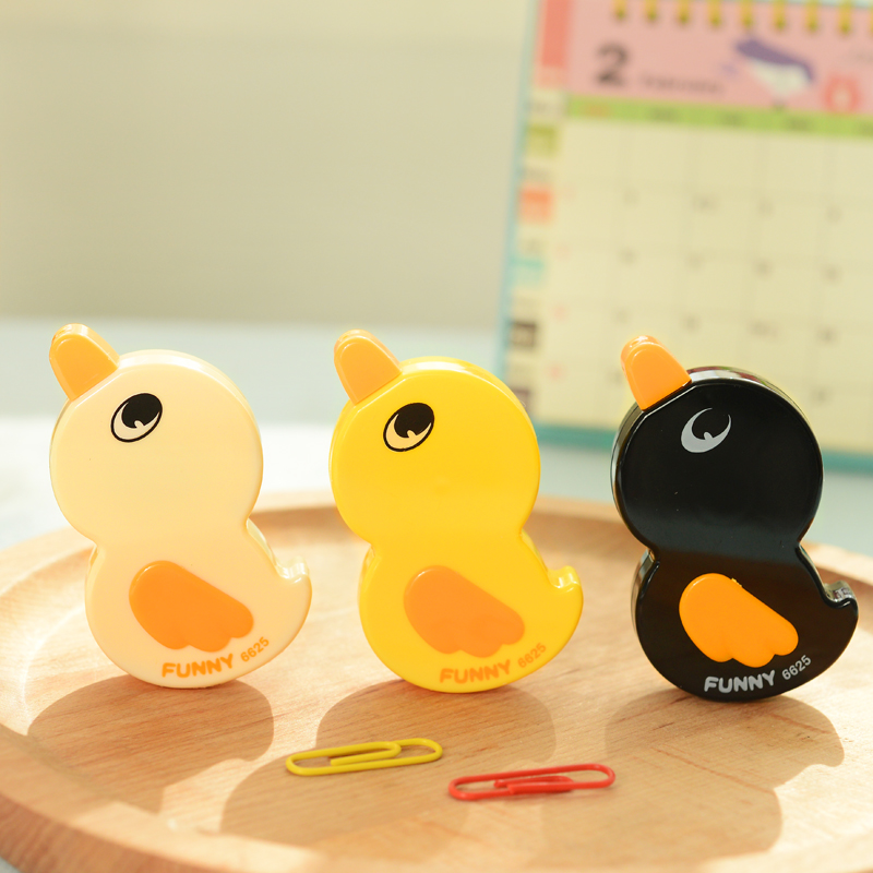 3 pcs/lot Korean stationery Cute Duck correction tape Cartoo