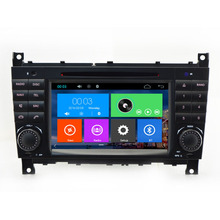 Capacitive Screen Car DVD Player For Mercedes/Benz/W203/W209/W169/W219/A-Class/A160/C-Class/C180/C200/CLK200/CLK350 Radio GPS FM