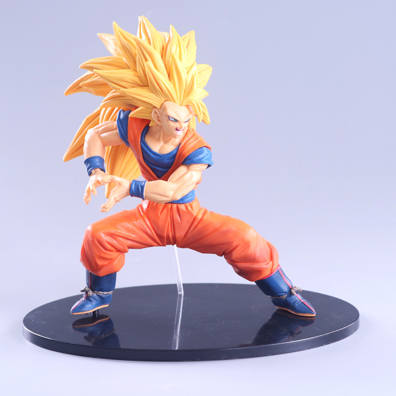 Dragon Ball Z Super Saiyan Son Goku FES PVC Action Figure Collection Model Toy 20cm anime dragon ball z goku wife chichi pvc action figure toy loli collection model toy 14cm