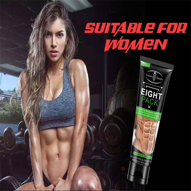 Abdominal Muscle Cream Anti Cellulite Slimming Fat Burning Cream Body Firming Strengthening Belly Muscle Tightening Abdomi
