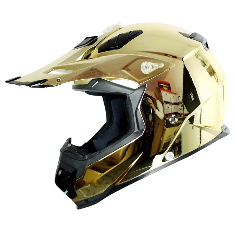High Quality Chrome Motocross Helmet Motorcycle Capacete Moto Bike Casco Nenki Brand MX315-C gub sv6 colorful bicyle bike helmet capacete free size casco ciclismo helmet colorful