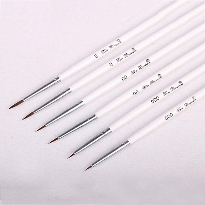 Artist Stationery Professional Fine Hand-painted Hook Line Pen Round Tip Watercolor Drawing Painting Brush Pen Art Supplies image
