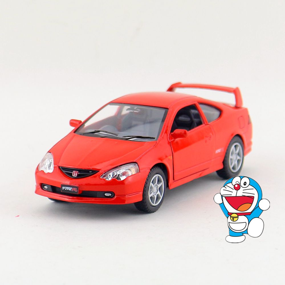 KINSMART Die Cast Metal Model/1:34 Scale/Honda Integra Type R toy/Pull Back Car for childrens gift or for collection/Gift