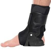 Поддержка лодыжки скобы для ступней гвардии растяжения травма обёрточная бумага эластичный Шинная ремень спортивные