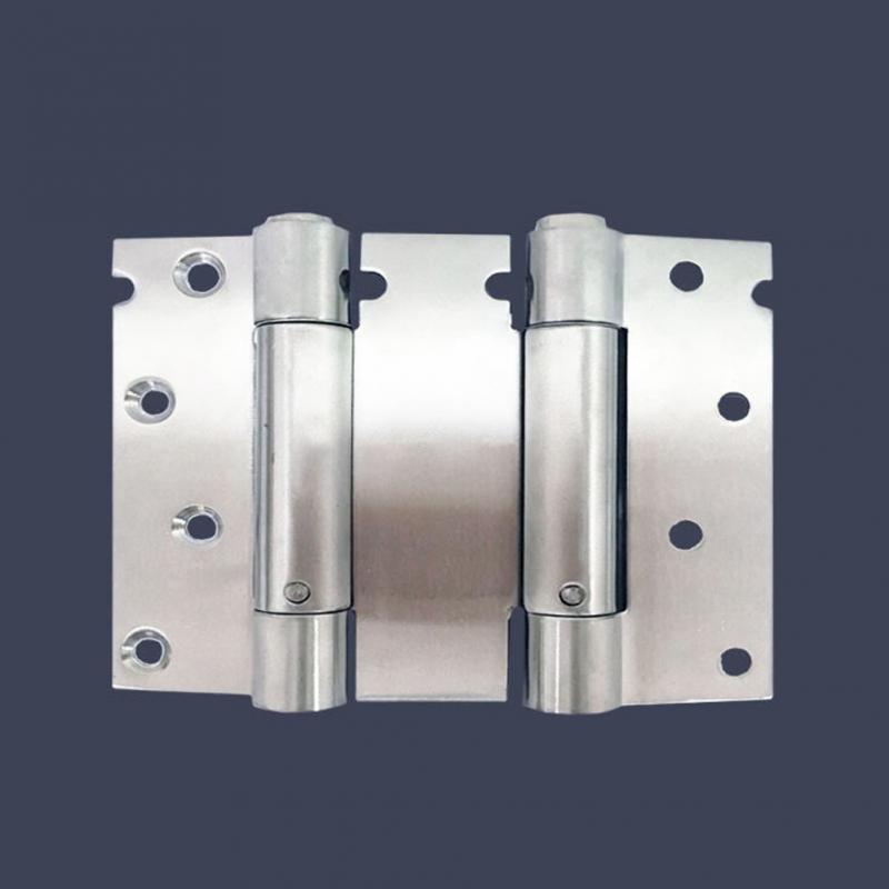 4 Inch Stainless Steel Hinge Stainless Steel Hinge Door and Window Hardware Slver White Double Spring hq 125mm long stainless steel flag hinge lift off hinge door hinge