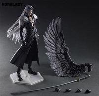 Play Arts Final Fantasy Figure Final Fantasy VII Sephiroth Figure PA Play Arts Kai Cloud Strife 27cm PVC Action Figure Doll Toys