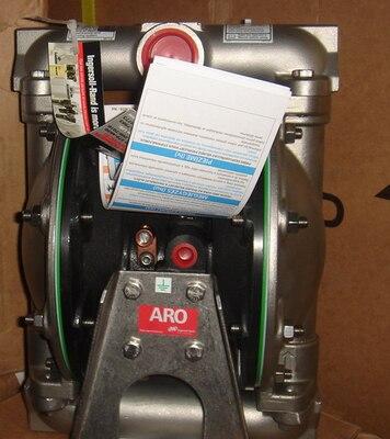 Original authentic  IngersollRand ARO 1 diaphragm pump 66612B-244-C stainless steel