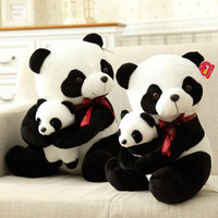 40cm 50cm Cute Panda Plush Toy Simulation Panda Stuffed Soft Doll Animal Plush Kids Toys High Quality Children Plush Gift D72Z