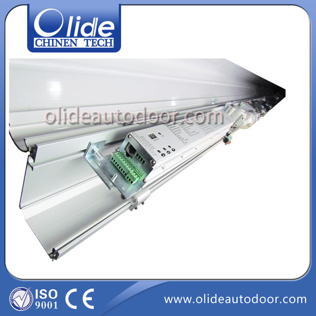 CE Quality Automatic Sliding Screen Door Closer With Microwave Sensor(  Aluminium Rail And Cover Are