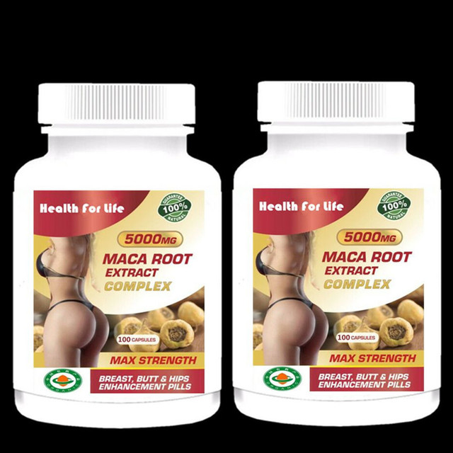 Bigger Breast & Butt / Hips Enlargement Maca – Root Extract – For Man and Woman