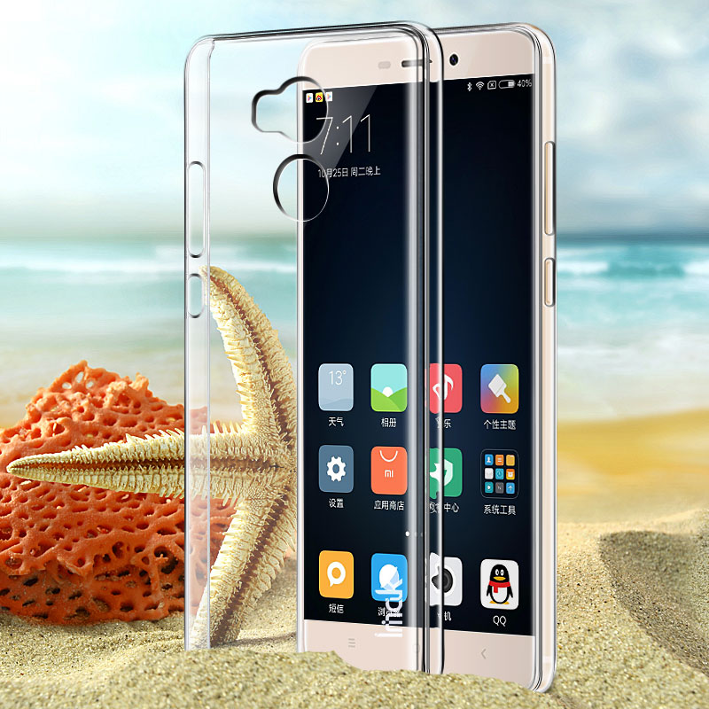 Original Imak Hard Plastic Phone Cases For Xiaomi Redmi 4 Pro Prime Redmi4 Transparent Clear Crystal Protective Cover Back Case