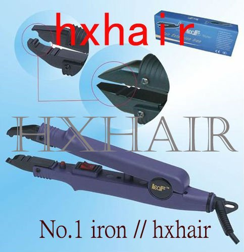 Freeshipping - 10pcs No.1 Adjust-Temp Hair Extension Fusion Connector / Hair Extension Fusion Iron / Hair Fusion Iron