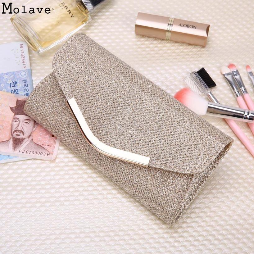 Brand new Evening Party Clutch Bag Hot Ladies Upscale Small Gold Clutches Purse Handbag 1pcs Nov25
