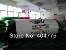 Free big logo printing  inflatable blob water for sale with free CE/UL air blower and carry bag and repair kit