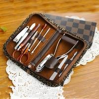 10 In 1 Set Nail Tools Mini Manicure Kit Toe Nail Cutter Cuticle Nipper Makeup Accessories