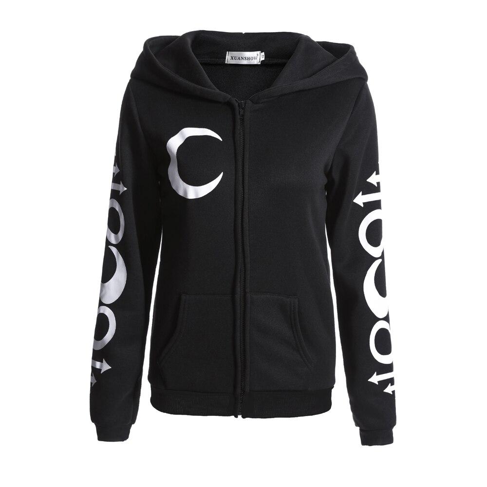 longa jaqueta com zíper senhora casaco