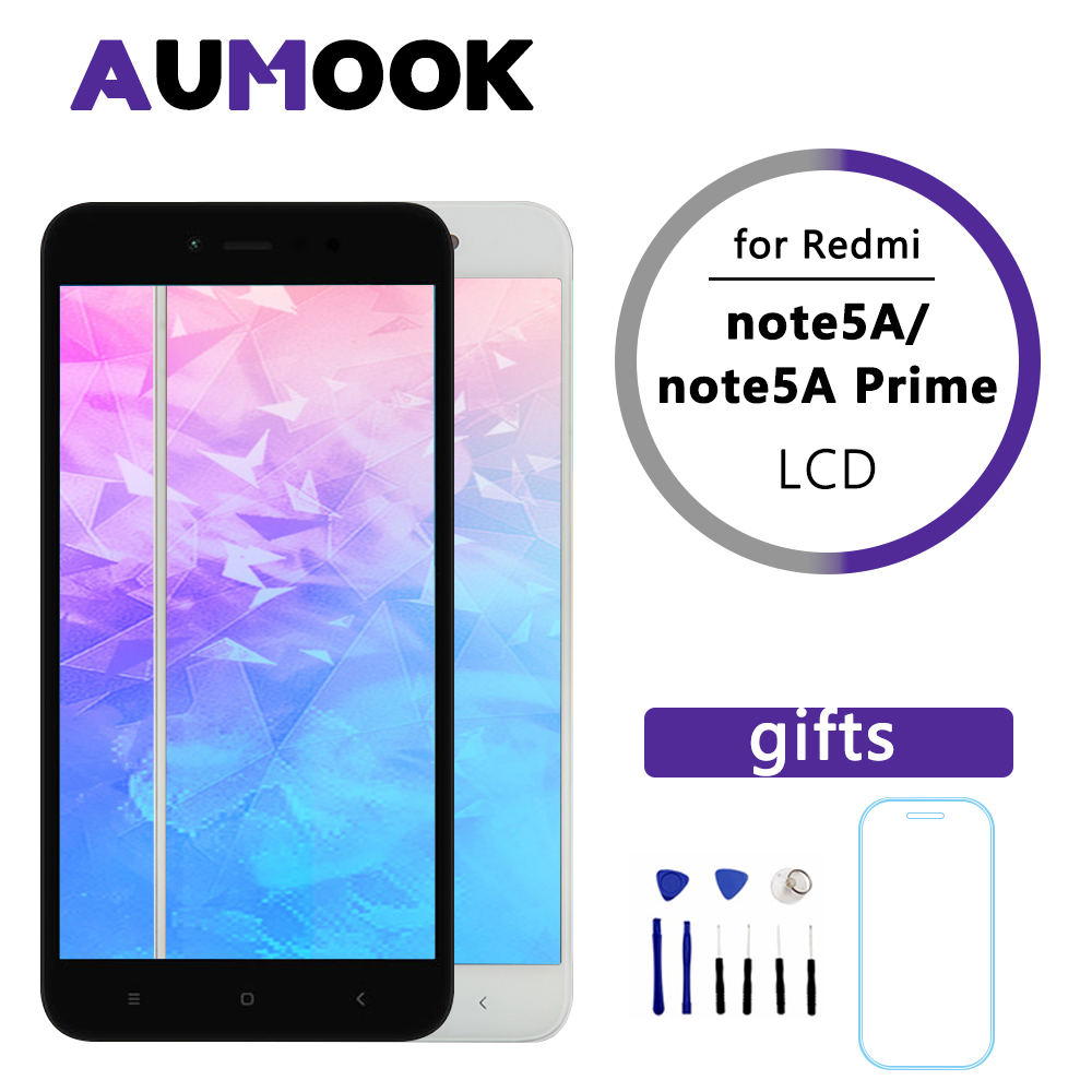 Premium Quality LCD For Xiaomi Redmi Note 5A Touch Screen LCD+Frame For Redmi Note 5A Prime LCD Y1 Y1 Lite Display