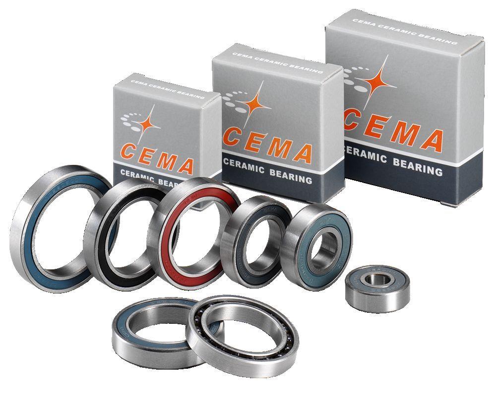 Cema Hybrid Ceramic Cycling Brakcet Bottom Hub Bearing - Lots Of Various Sizes