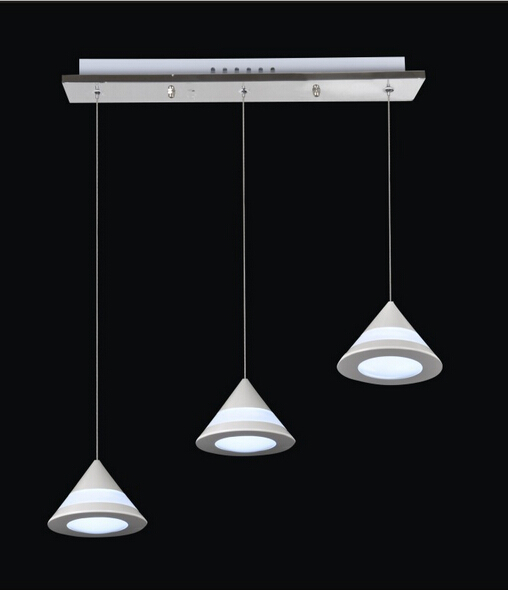 creative fashion modern acryl aluminum led pendant light for dining room living room 3w*3/6/12/24 heads AC 85-265V 1009 bried led aluminum acryl pendant light for office dining room ruler creative jane pendant light 110 220v 34 60 90 120cm 1759