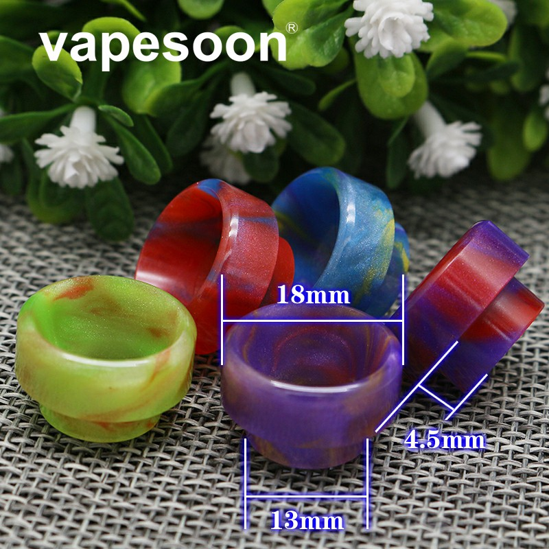 VapeSoon 810 Resin Drip Tip For TFV8 TFV8 BIG BABY TFV12 Griffin 25 Atomizer