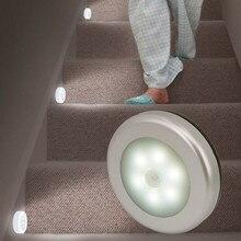 цена на PIR Motion Sensor LED Night Light Human Body Light Control Induction Magnetic Closet Cabinet Wardrobe Stairs Bedroom Wall Lamp