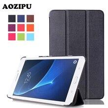 Бизнес одноцветное магнит искусственная кожа Планшеты чехол для Samsung Galaxy Tab 7.0 T280 T285 7 «читалка флип стенд Крышка