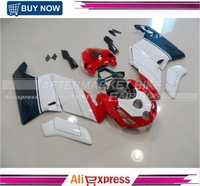 Tri color ABS Fairing Kit For Ducati Motorcycle 749 / 999 2003 2004 Bodywork