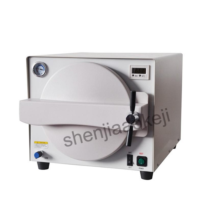 Dental sterilization cabinet oral disinfection cabinet sterilization dental sterilizer disinfection equipment 110/220V 900W 1pc dental sterilization box for gutta percha root canal file high speed bur disinfection box dental tool box disinfection box sl308