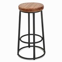 Vintage metal bar chair,wood metal bar stool,cadeira bar anti rust treatment,Bar furniture sillas chairs loft style furniture