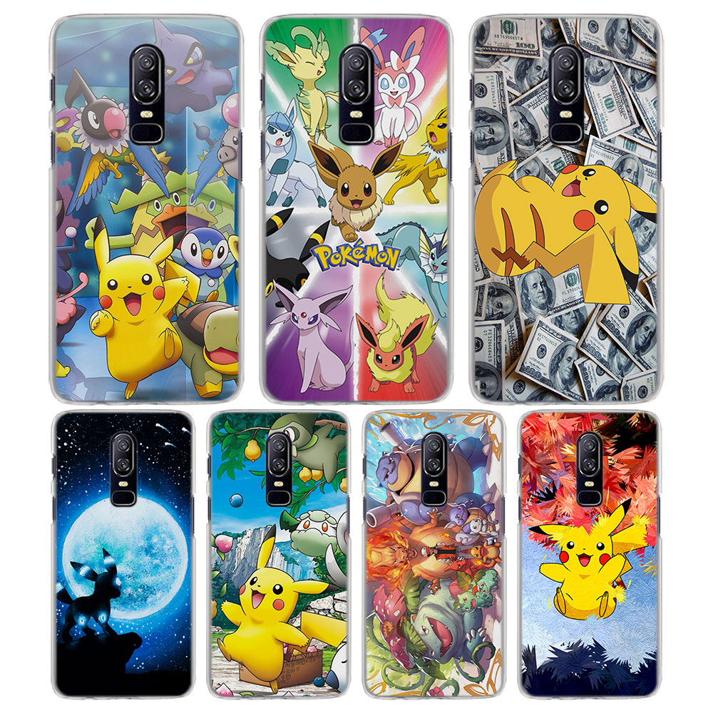 for-oneplus-6-5t-case-cool-font-b-pokemons-b-font-pika-pattern-transparent-frame-hard-back-case-cover-for-oneplus-5t-6-phone-case