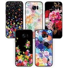 Silicone soft phone case back cover For Samsung Galaxy J2 J5 J7 prime Flower Phone case For Samsung Galaxy J2 J5 J7 prime кейс для назначение ssamsung galaxy j7 prime j5 prime с узором кейс на заднюю панель мрамор мягкий тпу для j7 prime j7 2016 j5 prime j5