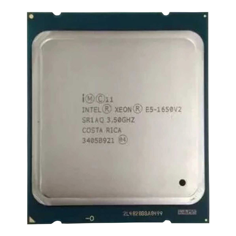 Intel Xeon CPU E5 1650V2 SR1AQ 3.50GHz 6-Core 12M LGA2011 Desktop Cpu Processor 1650v2