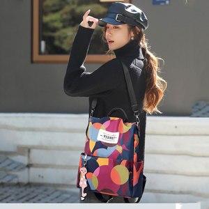 على ظهره النساء الأزياء حقيبة ظهر عادية مكافحة سرقة الظهر لسيدة أكسفورد ظهره للمدرسة المراهقين Bagpack
